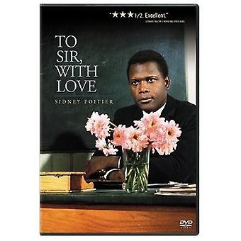 To Sir with Love [DVD] USA import