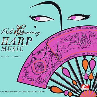 Nicanor Zabaleta - 18th Century Harp Music [CD] USA import