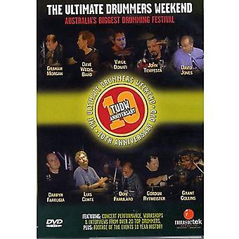 Vol. 10-Ultimate Drummers Weekend [DVD] USA import