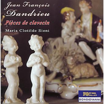 Jean Francois Dandrieu - Pieces De Clavecin [CD] USA import