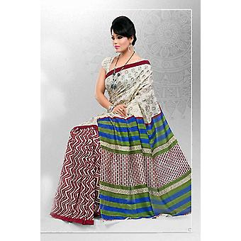 Nunno Bollywood Designer partito indossare Sari saree
