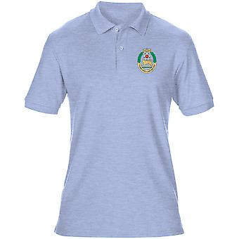 The York And Lancaster Regiment Embroidered Logo - Official British Army Mens Polo Shirt