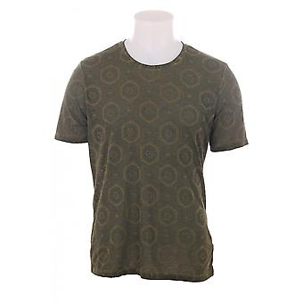 Diesel Mens T Brique Printed T Shirt