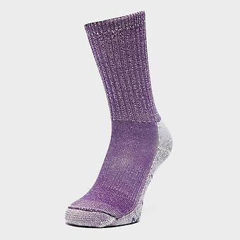 New Smartwool Women's Hike Light Crew Socks Purple