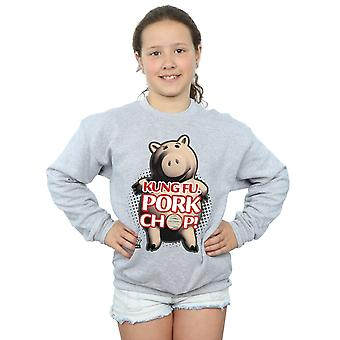Disney Girls Toy Story Kung Fu Pork Chop Sweatshirt