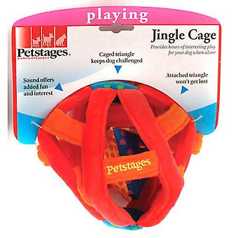 Petstages Jingle Cage Puppy Dog Toy