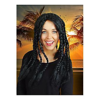 Perruque Perruques avec des dreadlocks noirs
