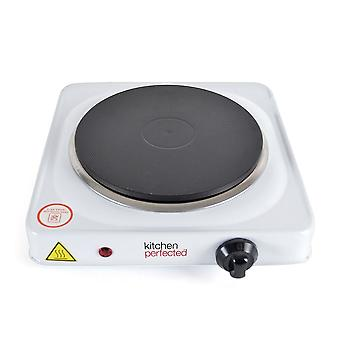Lloytron Kitchen Perfected Single Hotplate 1500 W White (Model No. E4102WH)