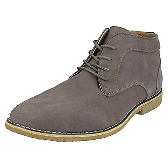 Mens Malvern Lace Up Ankle Boots A3069