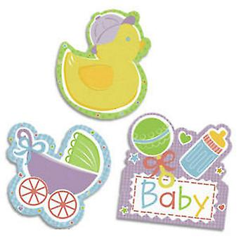 Amscan Baby Shower Cut-Out Decorations