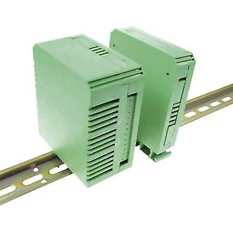AXXATRONIC KIT de CVB450 DIN rail cubierta 90 x 82 x 45 poliamida 6.6 verde 1 PC