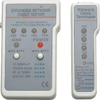 Intellinet 351898 Network tester Compatible with: CAT 3, CAT 4, CAT 5, CAT 5e, CAT 6, CAT 6A