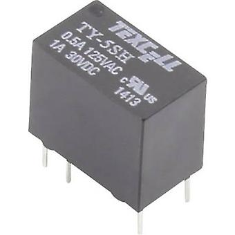 Texcell TY-5SH PCB relay 5 V DC 2 A 1 change-over 1 pc(s)