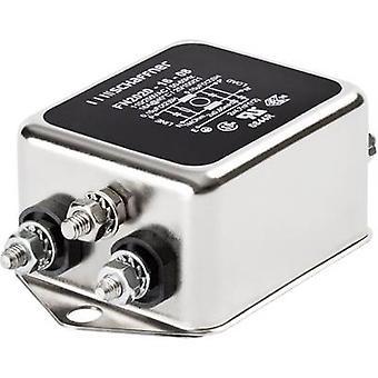 Schaffner FN 2020-16-06 EMI filter 250 V AC 16 A 0.65 mH (W x H) 71 mm x 29.3 mm 1 pc(s)