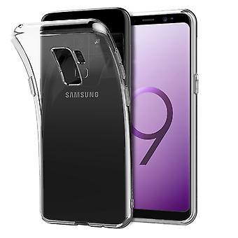 Samsung Galaxy S9 além de silicone transparente capa case
