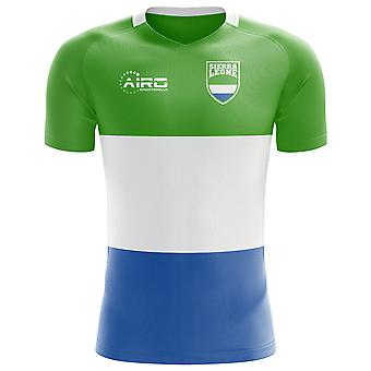 2020-2021 Sierra Leone Home Concept Football Shirt - Kids