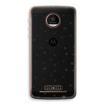 Motorola Moto Z Force transparant Case (Soft) - kleine katten