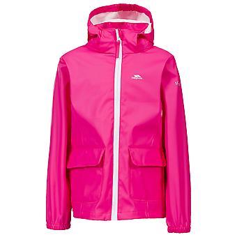Trespass Childrens Girls Nella Waterproof Jacket