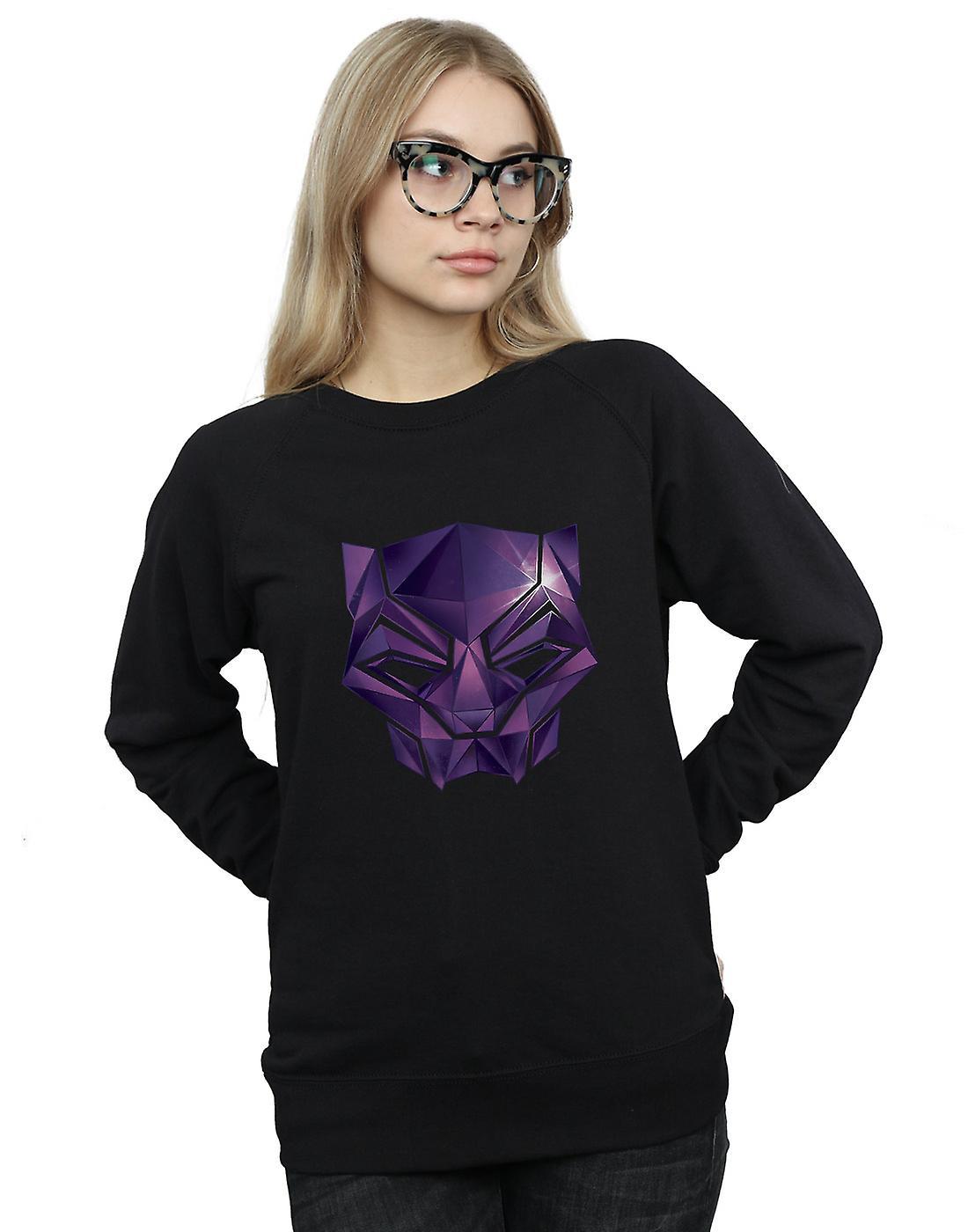 Marvel Women's Avengers Infinity War Black Panther Geometric Sweatshirt