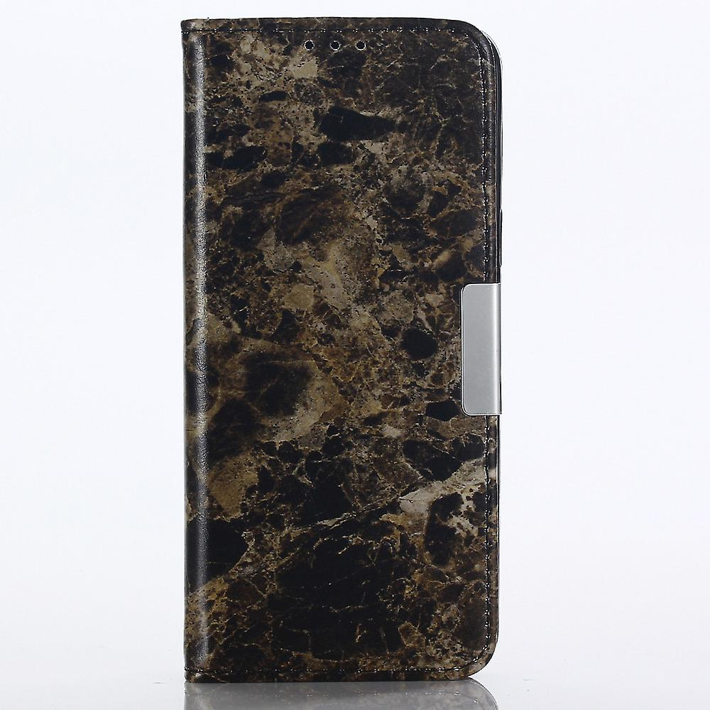 Wallet case marble- Samsung Galaxy S9+