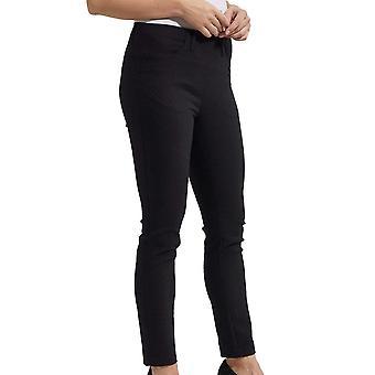 Laurie Black Jacquard Design Slim Fit Trousers