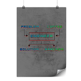 Matte or Glossy Poster with Problem Solving | Wellcoda | *y3544
