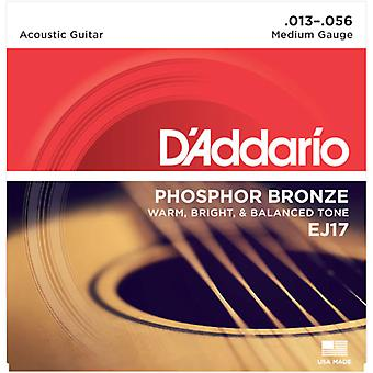 D Addario Phosphor Medium Acoustic Guitar Strings