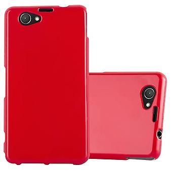 Caso cadorabo para Sony Xperia Z1 estojo compacto capa-flexível TPU silicone caso ultra slim Soft tampa traseira caso pára-choques