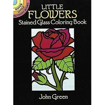 Fiorellini di vetro macchiato (Dover piccoli libri di attività)