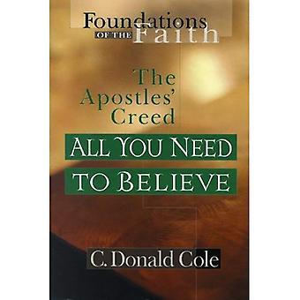 Alles wat die u nodig hebt om te geloven