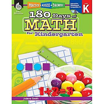 180 Days of Math for Kindergarten [With CDROM]