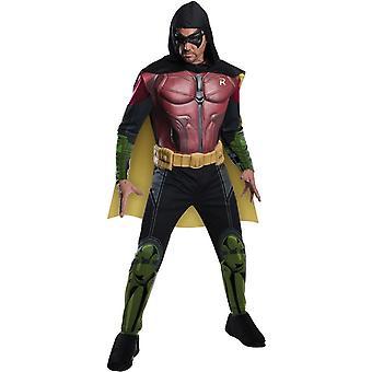 Робин Arkham взрослый костюм