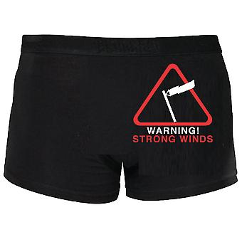 Warning Strong Winds Boxers