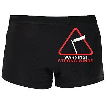تحذير قوي الرياح الملاكمين