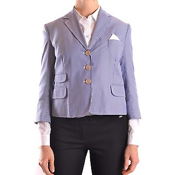 Dsquared2 Ezbc008094 Femmes-apos;s Blue Cotton Blazer