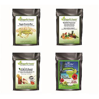 Sample Pack - Vital Life Nutrients (TM), Veggie Protein Plus (TM), Cal-0-Sweet (TM) & SkinnyCal-0-Rita (TM)