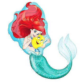 Anagram Little Mermaid And Flounder Supershape Balloon