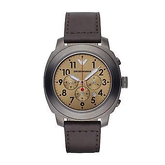 Emporio Armani Ar6055 Sportivo Gold Sunray Dial Men's Watch