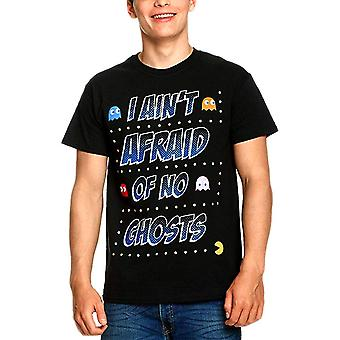メン&アポス;sパックマンアイン&アポス;tゴーストのTシャツを恐れる
