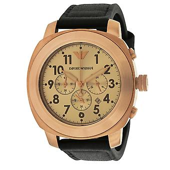 Emporio Armani Sport Leather Mens Watch AR6087