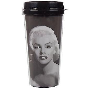 Travel Mug - Marilyn Monroe - Gray Painting  New ptmg-mm-mgs