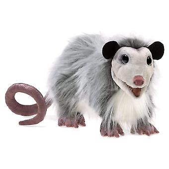 Hand Puppet - Folkmanis - Opossum New Toys Soft Doll Plush 3119