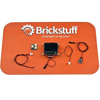 "Brickstuff 0.96"" OLED Sci-Fi Video Screens With 21 Pre-Loaded Animations - KIT-VS096-SF"
