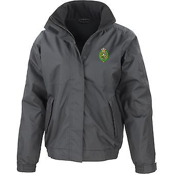 Royal Regiment Of Fusiliers Crest - Licensed British Army Embroidered Waterproof Jacket With Fleece Inner