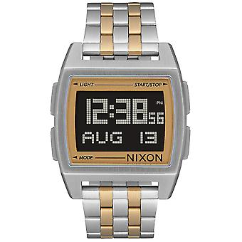 Nixon the Base Watch for Digital Quartz Man with A11071431 Stainless Steel Bracelet