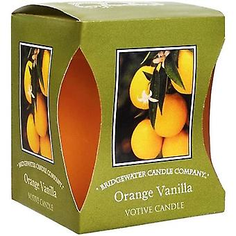 Orange and Vanilla Bridgewater Votive Candle