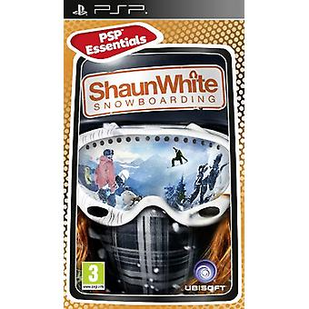PSP Essentials Shaun White Snowboarding (PSP)-fabriken förseglad