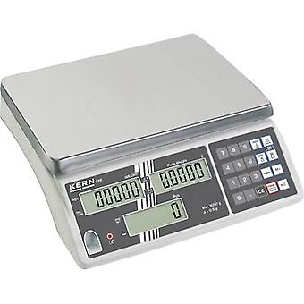 Kern Counting scales Weight range 6 kg Readability 0.5 g mains-powered, rechargeable Silver
