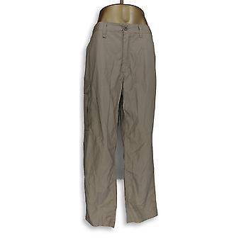 Craghoppers Mujeres's Pantalones bolsillos pierna recta Beige