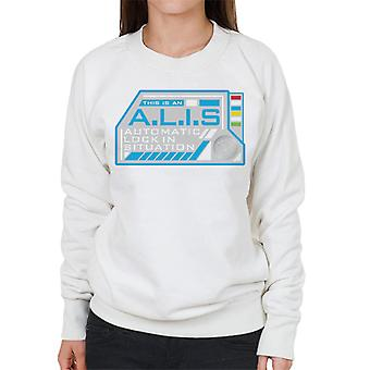 The Crystal Maze ALIS Auto Lock Women's Sweatshirt